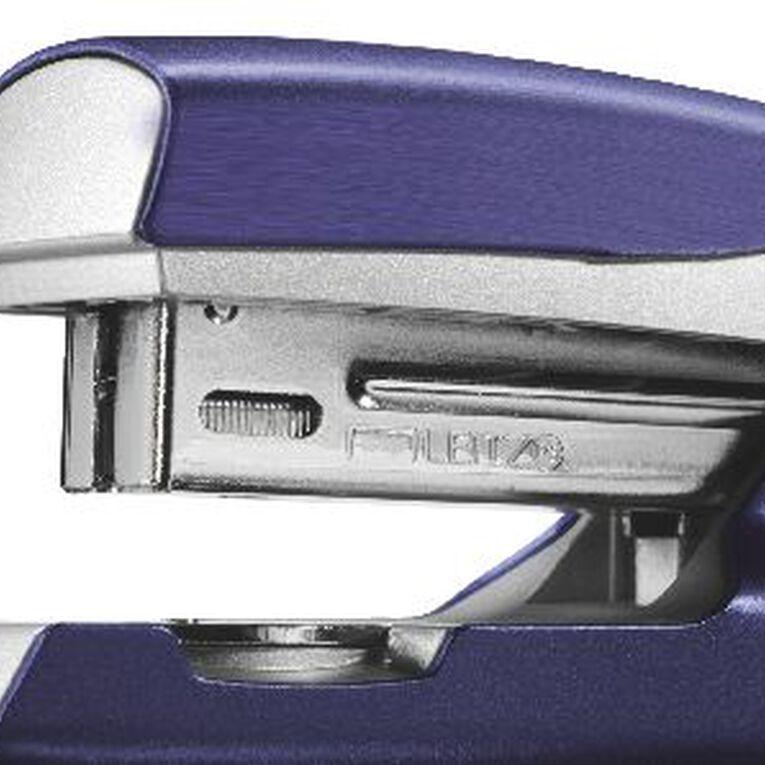 Leitz Metal Half Strip Stapler 30 Sheet Blue, , hi-res