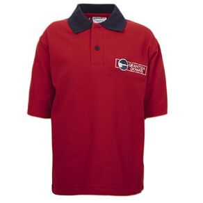 Schooltex Grantlea Downs Short Sleeve Polo with Embroidery