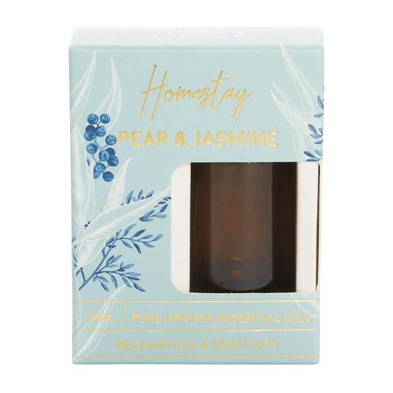 Living & Co Homestay Pear & Jasmine Green Green 15ml, Green, hi-res