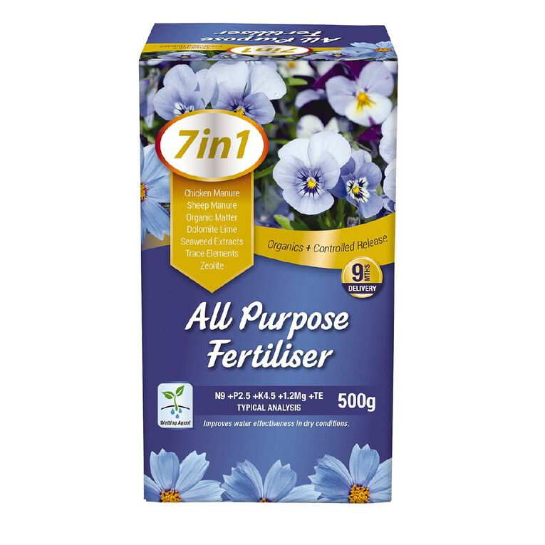 Daltons 7-in-1 All Purpose Fertiliser 500g, , hi-res