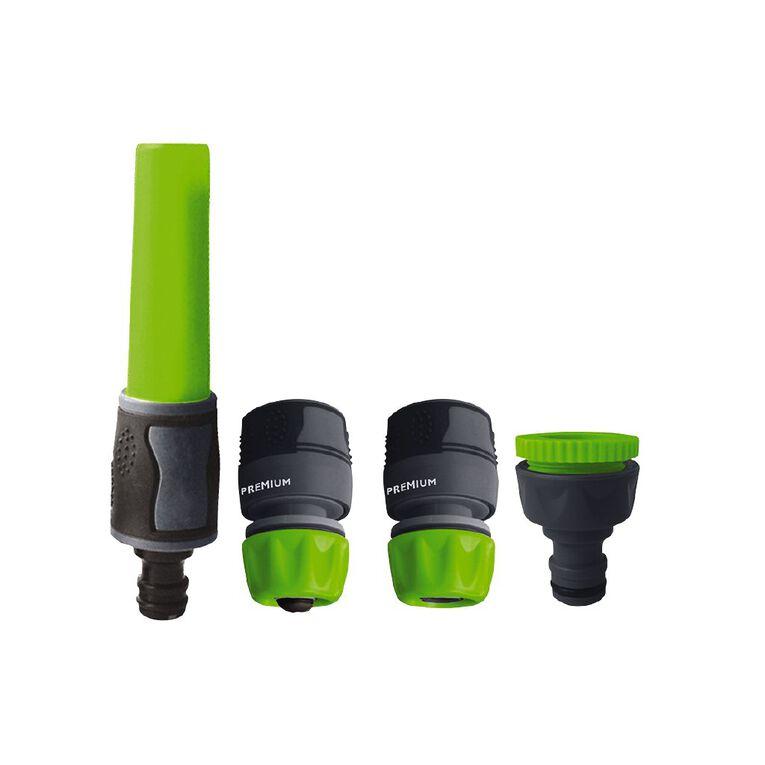 Kiwi Garden TPR Hose Fitting Starter Set 4 Pack, , hi-res