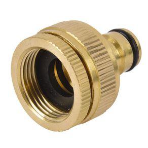Kiwi Garden Brass Universal Tap Adaptor 12mm
