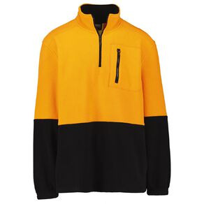 Rivet 1/4 Zip High Visibility Day Compliant Sweatshirt