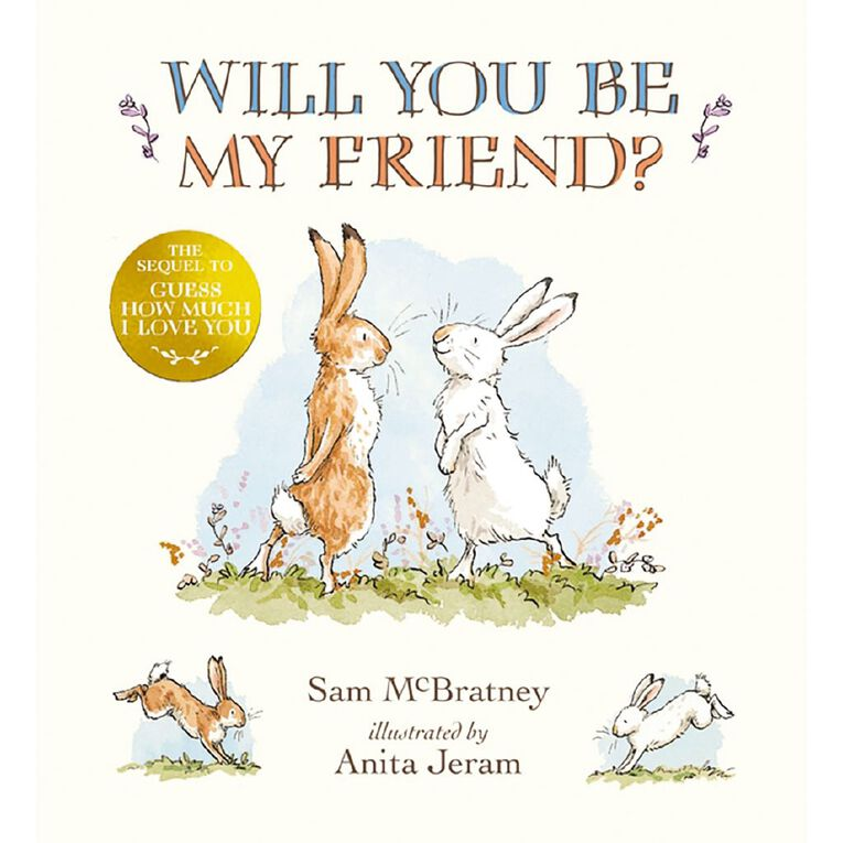 Will You Be My Friend? by Sam McBratney & Anita Jeram, , hi-res