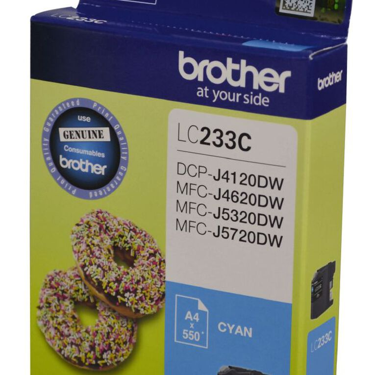 Brother Ink LC233 Cyan (550 Pages), , hi-res