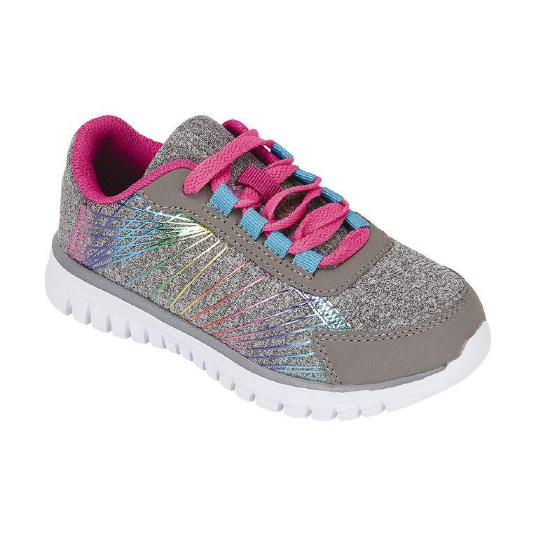 Active Intent Rainbow Effect Shoes, Grey, hi-res