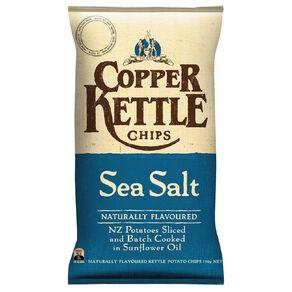 Copper Kettle Chips Sea Salt 150g