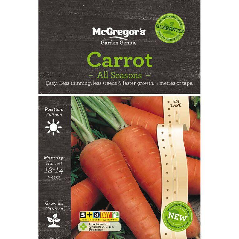 McGregor's Carrot All Season Seed Tape, , hi-res