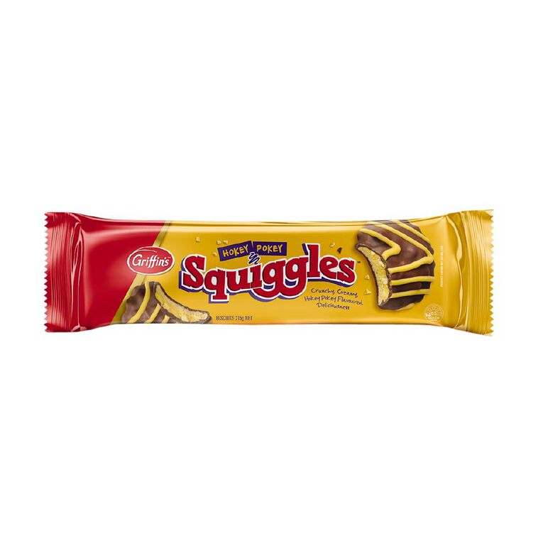 Griffin's Squiggles Hokey Pokey 215g, , hi-res