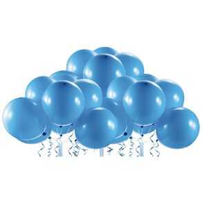 Zuru Bunch O Balloons Self-Sealing Balloons Refill Blue 24 Pack