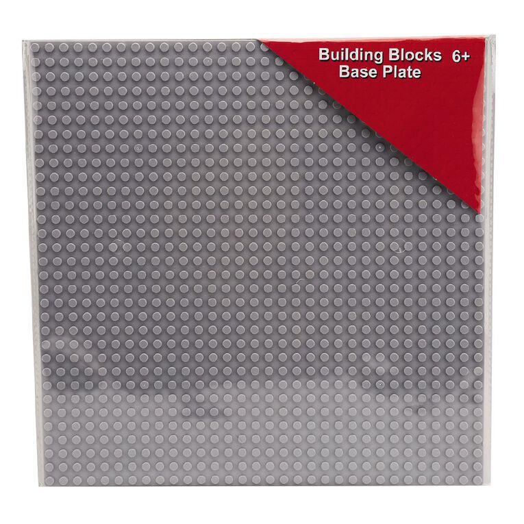 Play Studio Building Bricks Base Plate Assorted 25cm, , hi-res