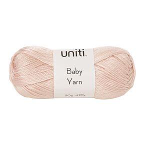 Uniti Yarn Baby Acrylic 4 Ply Pink 50g