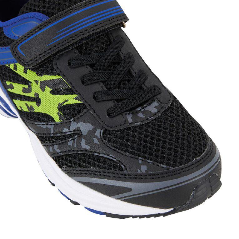 Active Intent Kids' Active Tam Shoes, Black/Blue, hi-res