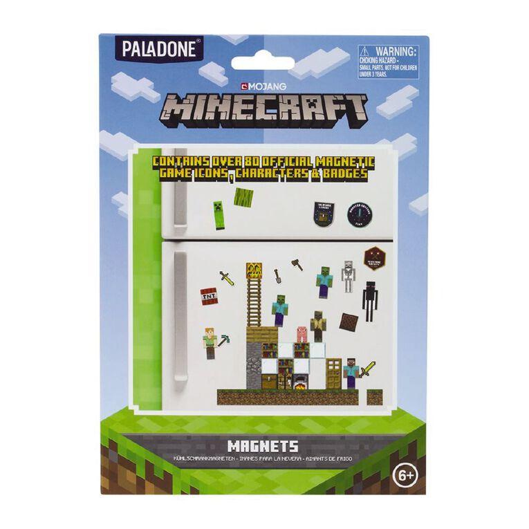 Paladone Minecraft Build-A-Level Magnets, , hi-res