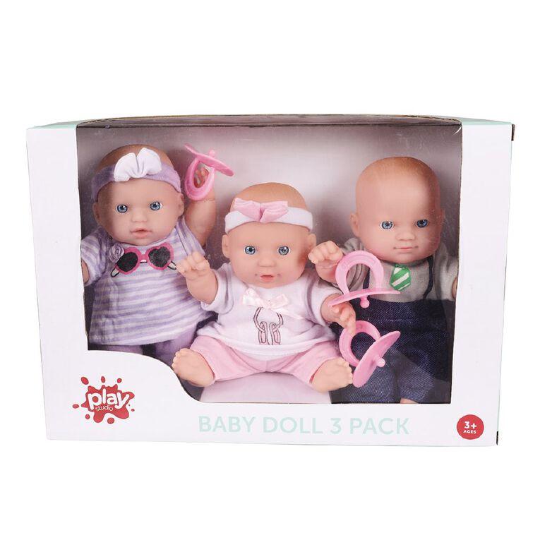 Play Studio Baby Doll 3 Pack, , hi-res