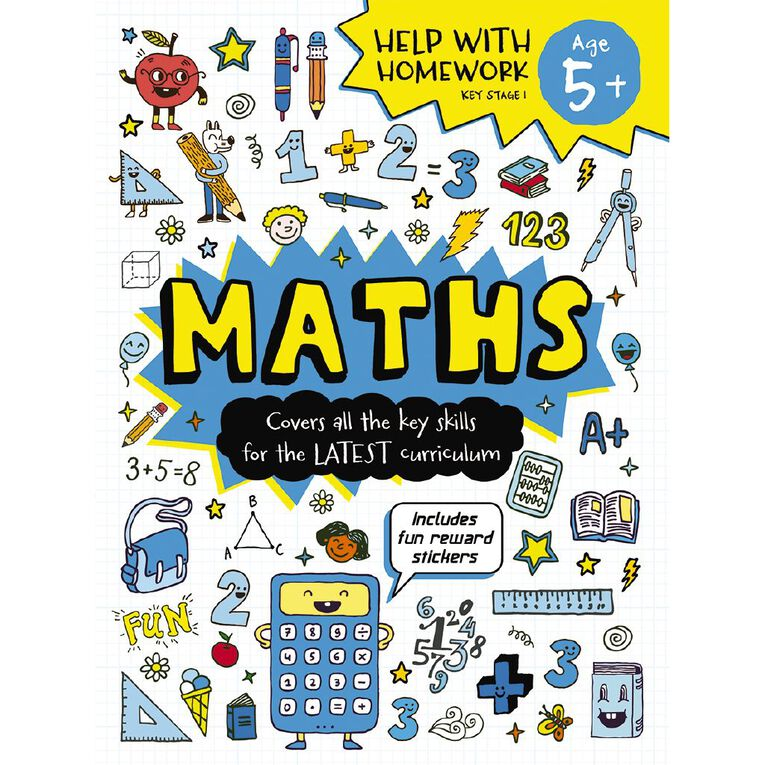 Help with Homework Expert 5+ Maths, , hi-res