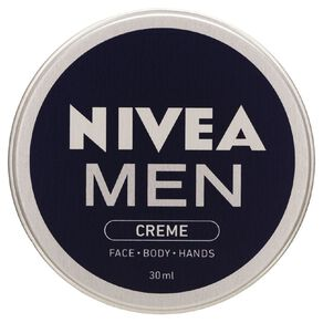 Nivea Men Face Cream Tin Mini 30ml
