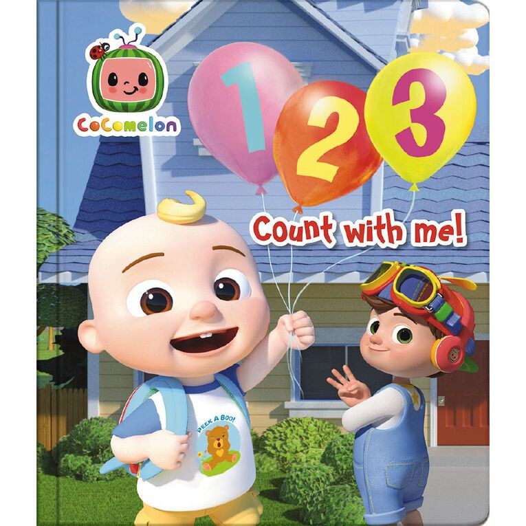 CoComelon Board Book 123, , hi-res image number null
