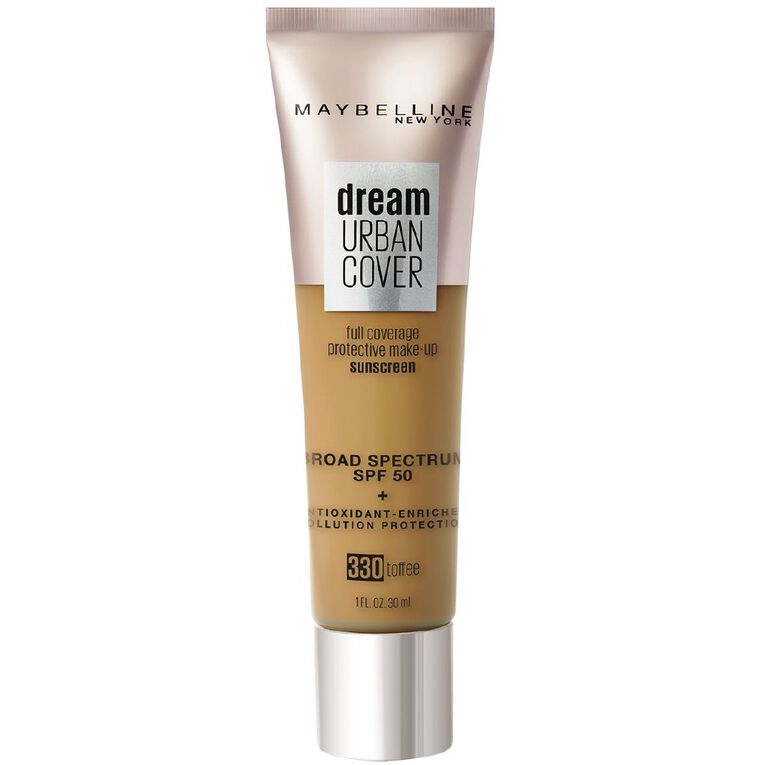 Maybelline Urban Cover Foundation 330 Toffee, , hi-res