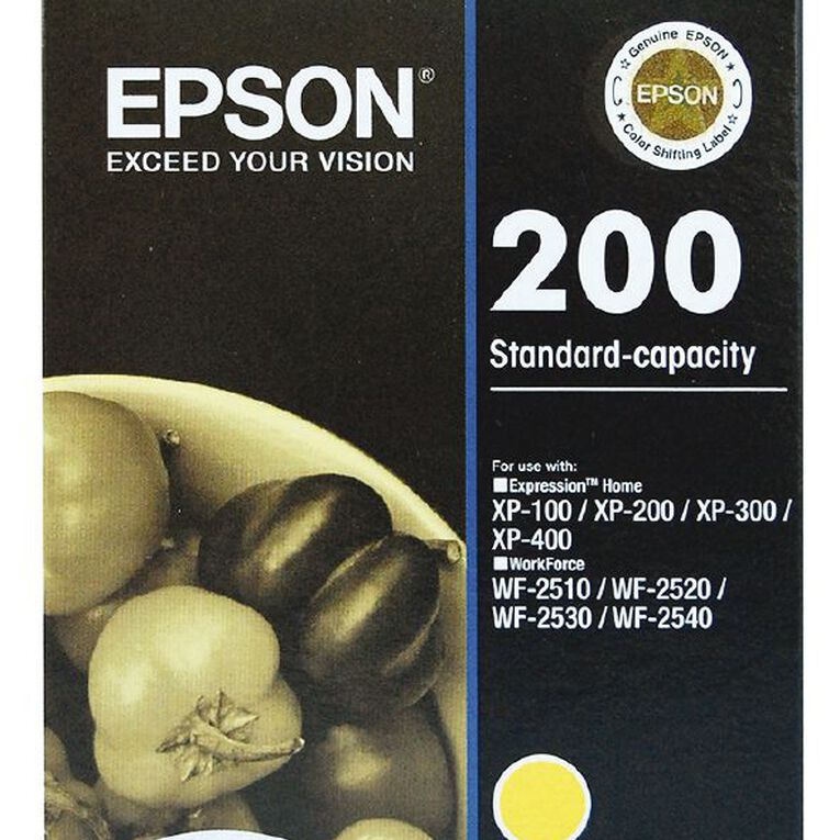 Epson Ink 200 Yellow (165 Pages), , hi-res