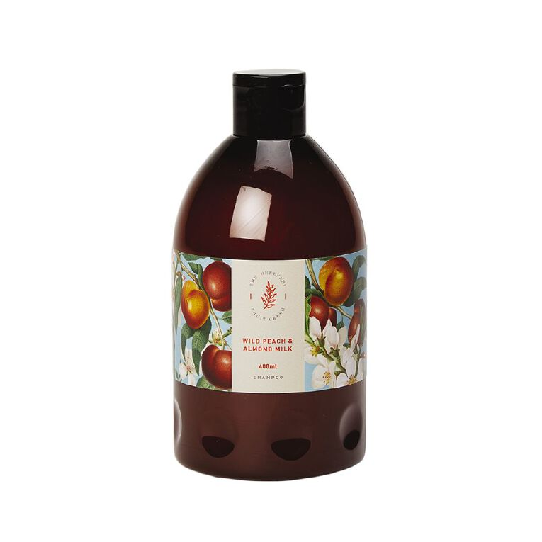Winter Fruit Wild Peach And Almond Milk Shampoo 400ml, , hi-res