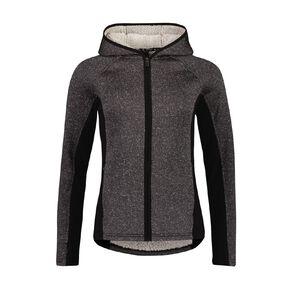 Active Intent Women's Outdoor Cosy Zip-Thru Sweatshirt