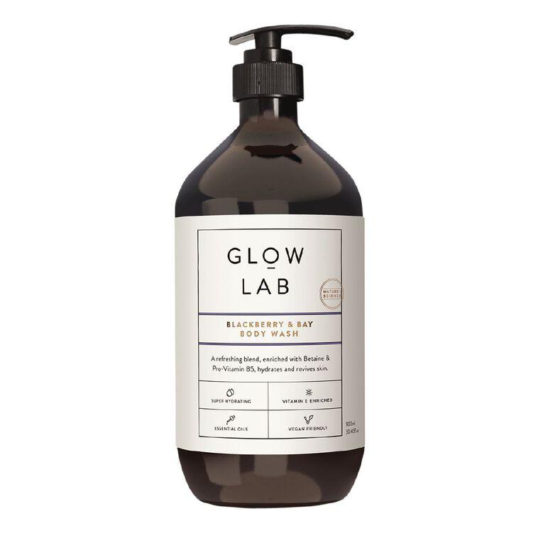 Glow Lab Bodywash Blackberry & Bay 900ml, , hi-res
