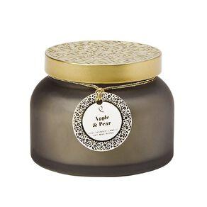 Living & Co Luxury Raspberry and Rhubarb Jar Candle 12oz