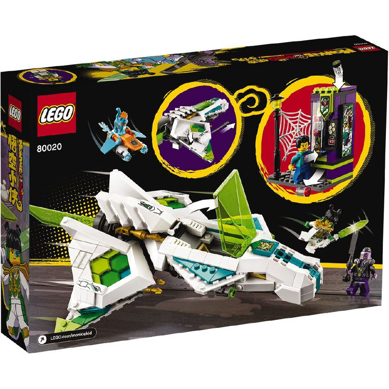LEGO Monkie Kid White Dragon Horse Jet 80020, , hi-res