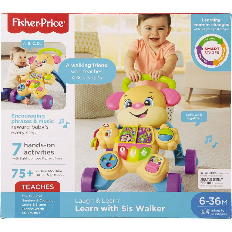 Fisher-Price Laugh & Learn Smart Stages Puppy Walker Assorted, , hi-res