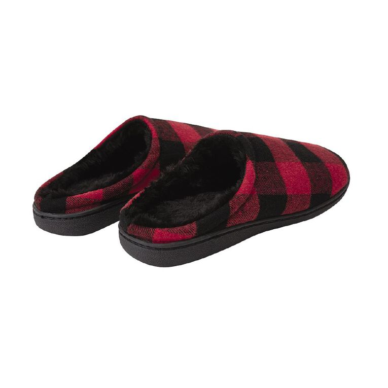 H&H Shay Slipper Scuffs, Red, hi-res