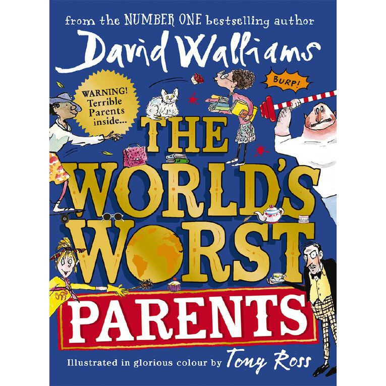 The World's Worst Parents by David Walliams, , hi-res