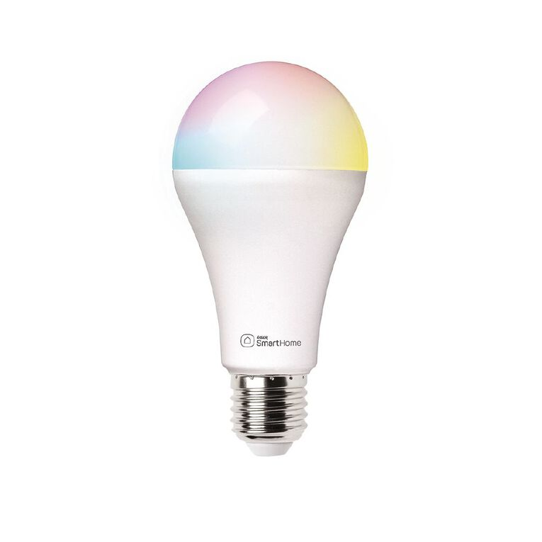 Laser Smart Home WiFi Lightbulb 10W RGB Screw In E27, , hi-res