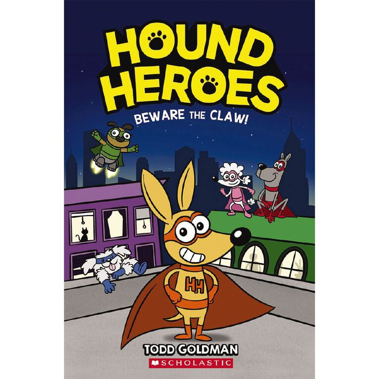 Hound Heroes #1 Beware the Claw! by Todd Goldman, , hi-res