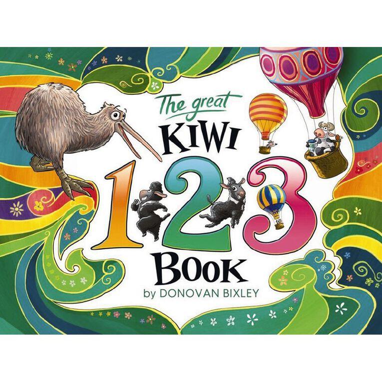 The Great Kiwi 123 by Donovan Bixley, , hi-res