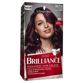 Schwarzkopf Brilliance 59 Violet Wild Silk