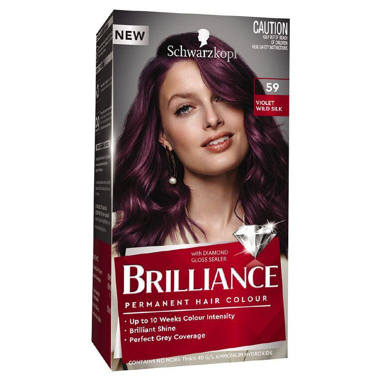 Schwarzkopf Brilliance 59 Violet Wild Silk, , hi-res