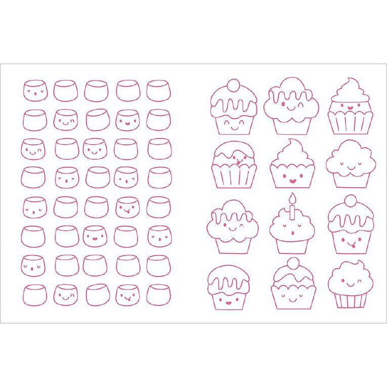 Colour Your Own Super-Cute Cupcake Squishy, , hi-res