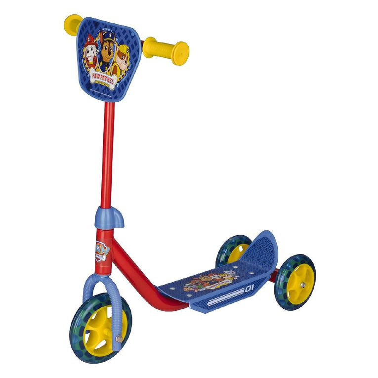 Paw Patrol Chase 3 Wheel Scooter., , hi-res