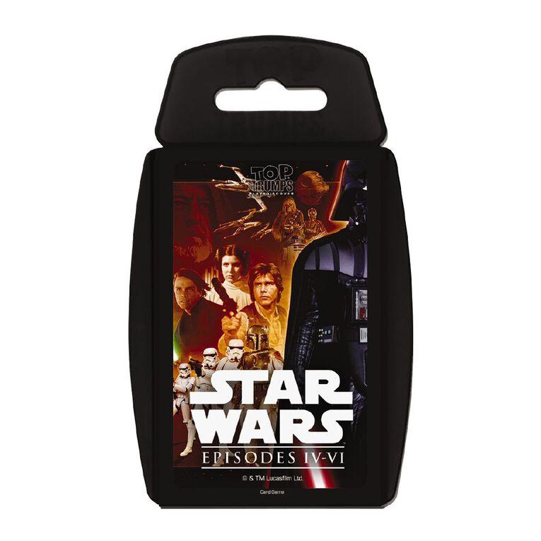 Star Wars Episode IV - VI Top Trumps Game, , hi-res
