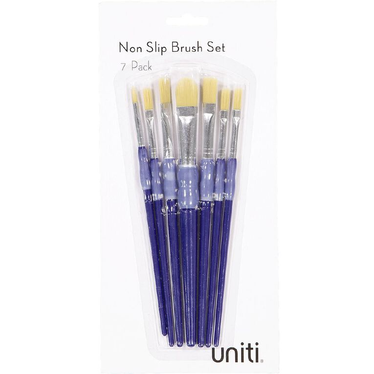Uniti Brush Set Non Slip 7 Piece, , hi-res