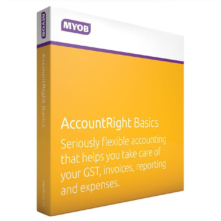 Myob Accountright Live Basics, , hi-res