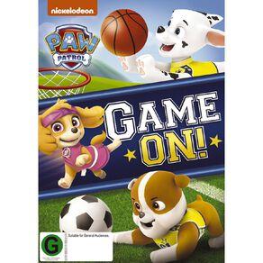 Paw Patrol Game On! DVD 1Disc