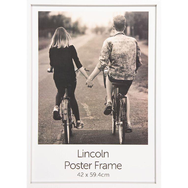 Uniti Box Poster Frame White A3 White A3, White, hi-res