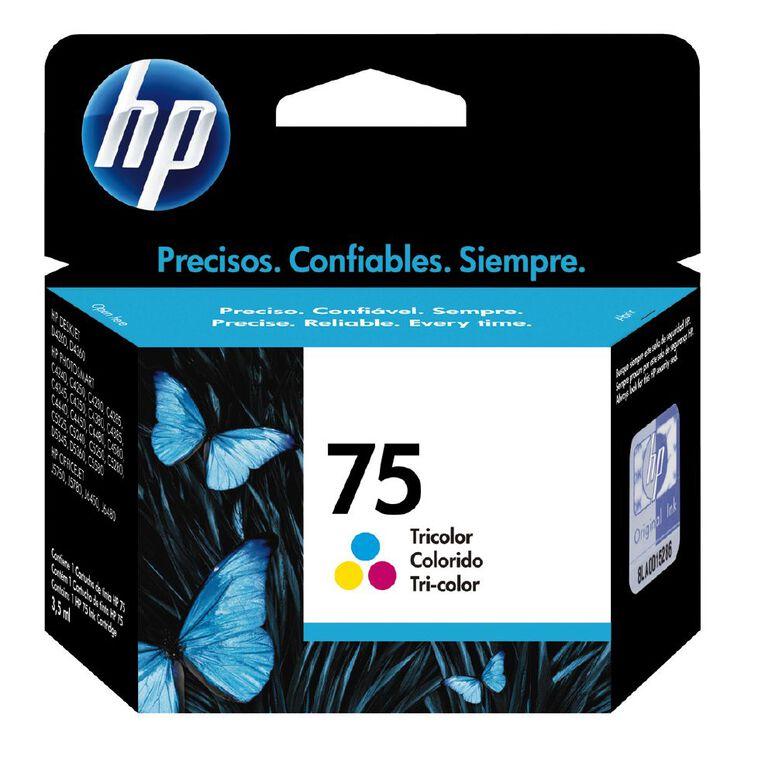 HP Ink 75 Colour (170 Pages), , hi-res