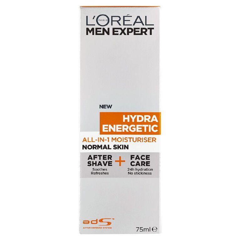 L'Oreal Paris Men Expert All-in-1 Moisturiser Hydra Energetic 75ml, , hi-res