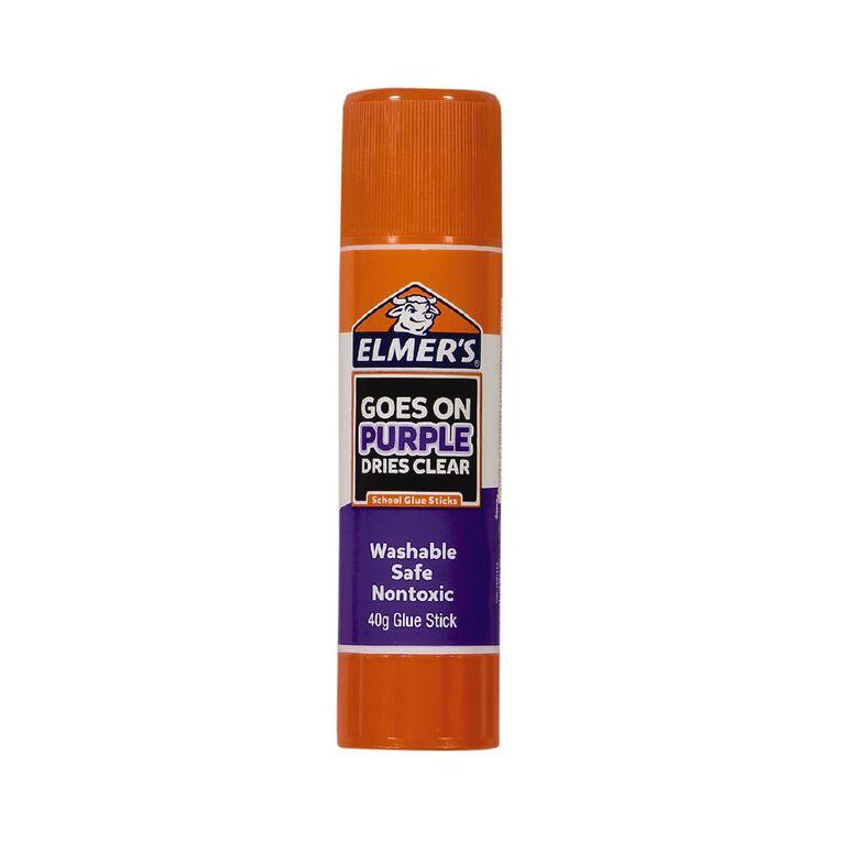Elmer's Disappearing Purple School Glue Sticks 40g, , hi-res