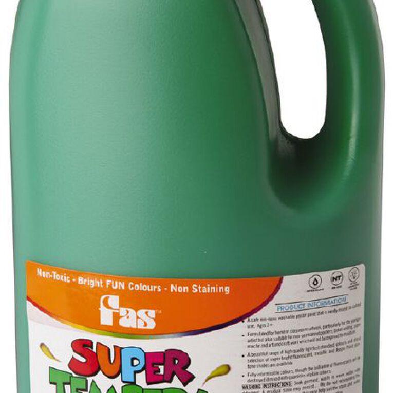 FAS Paint Super Tempera 2L Green Green 2L, , hi-res