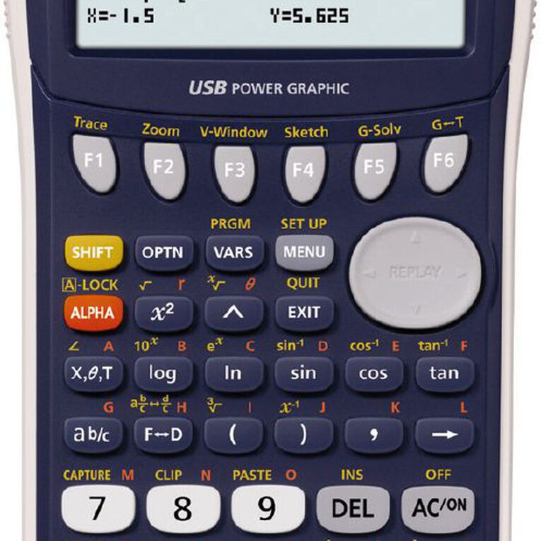 Casio Graphics Calculator FX9750GII, , hi-res