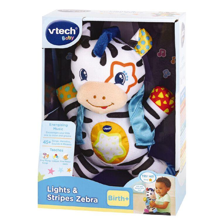 Vtech Lights & Stripes Zebra, , hi-res